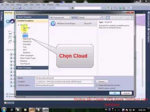 Hướng dẫn Create VPS Azure - Gome.vn
