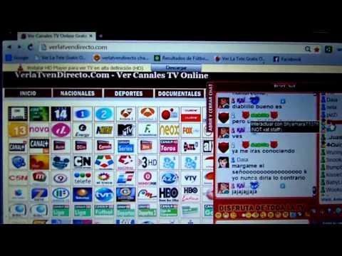 como ver todos los canales de pago gratis total