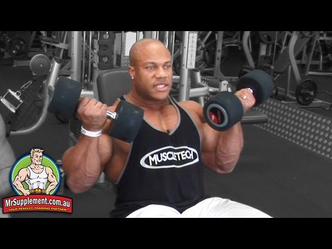 Phil Heath's Incline Dumbbell Curl | Bicep Exercise #2