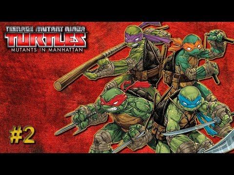 Teenage Mutant Ninja Turtles Mutants In Manhattan - Blind Let's Play - Part 2