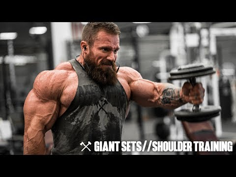 Giant Sets & Shoulder Training | Seth Feroce