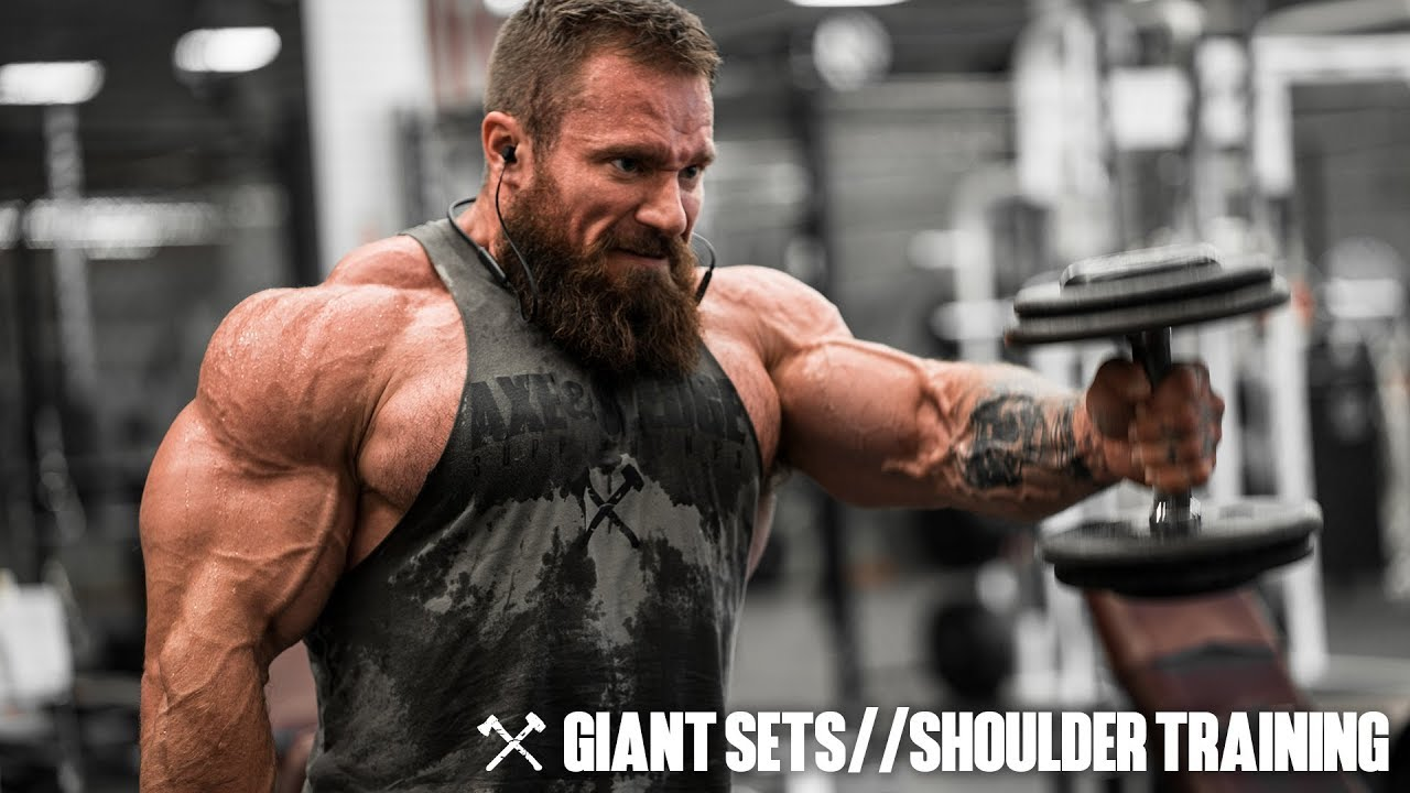 Image result for Giant Sets & Shoulder Training | Seth Feroce