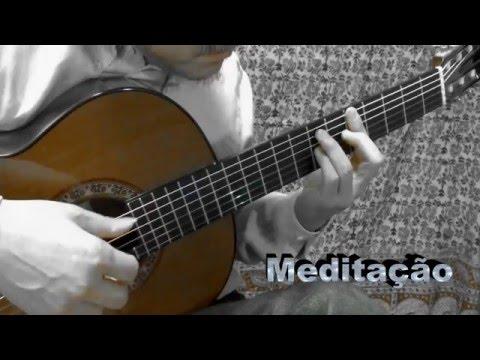 Tom Jobim - Meditação (Meditation) - Solo Guitar