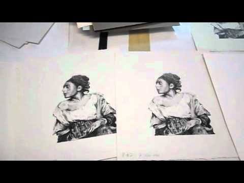 Waterless Lithography Printmaking