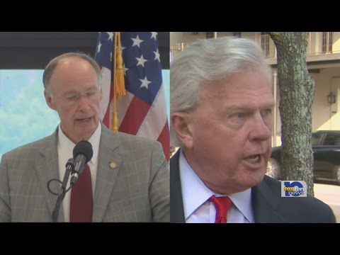 Governor Robert Bentley and his opponent, Parker Griffith, have both shelled out $1.4 million in tel