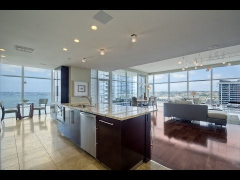 Downtown San Diego Condo for Sale - Luxury 2 Bedroom with Panoramic Water Views