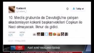 """FUAT AVNİ: """"YİNE Mİ YAKALADINIZ BENİ (!). GÖREVİMİN BAŞINDAYIM"""""""