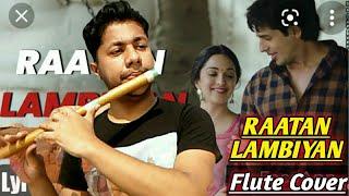 Raataan Lambiyan   Flute Instrumental Cover   Jubin Nautiyal   Shershaah   Harish Mahapatra