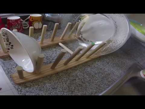 Como hacer un organizador para platos DIY  YouTube