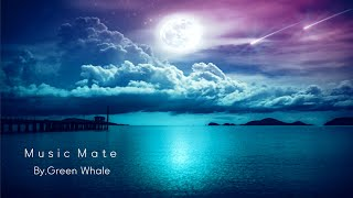 """(9hours)Sleep music for a comfortable night☁Insomnia treatment music,healing music-""""Clouds and Moon"""""""