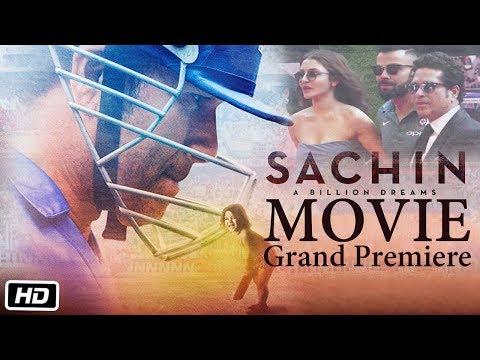 Sachin: A Billion Dreams Movie Grand Premiere Red Carpet | Full Video