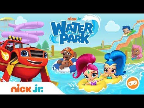 FREE Summer Water Park Game | Make A Splash W/ PAW Patrol, Shimmer & Shine, Blaze & More | Nick Jr.