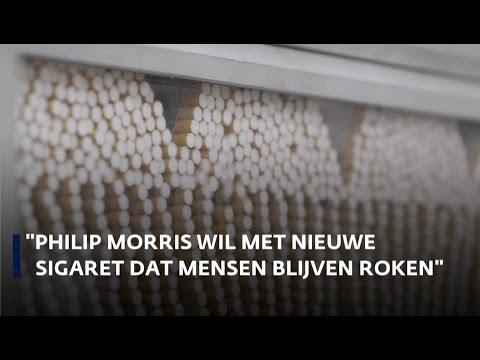 'Philip Morris wil met nieuwe sigaret dat mensen blijven roken'
