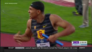 2018 NCAA Track Championships Men's 4x400m Relay