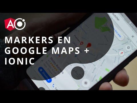 Mostrar Markers Con Google Maps + Ionic + Angular
