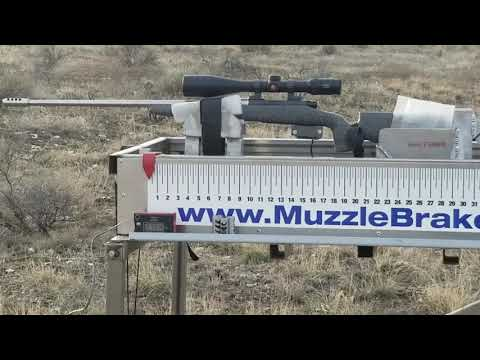 6 5 Creedmoor Muzzle Brake Test