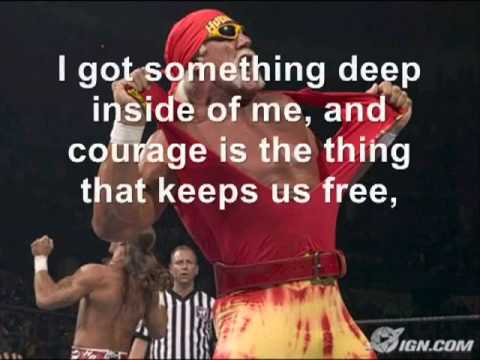 Hulk Hogan Theme - Real American Lyrics
