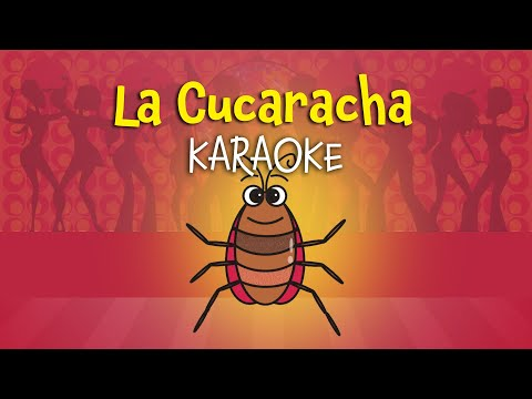 La Cucaracha [English Version for Children] | Karaoke with Lyrics