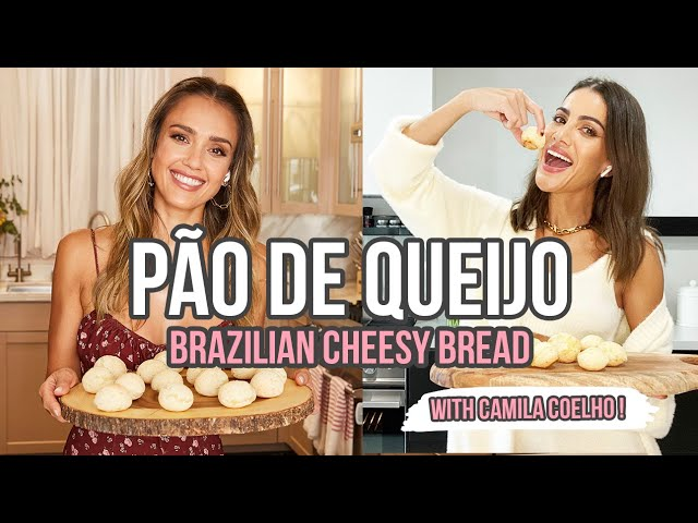 Baking Brazilian Cheesy Bread - with Camila Coelho | JESSICA ALBA