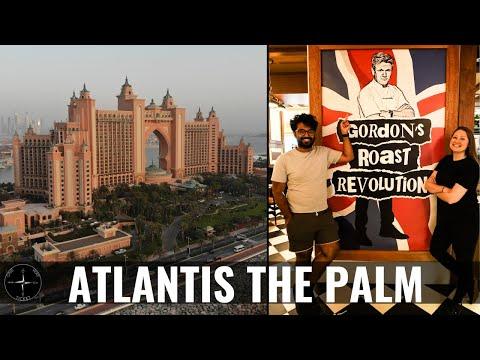 GORDON RAMSAY'S BREAD STREET KITCHEN DUBAI & LOST CHAMBERS AQUARIUM (ATLANTIS HOTEL)