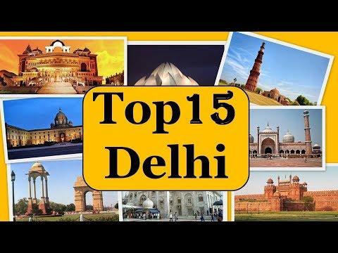Delhi City Tour | Famous 15 Tourist Places in Delhi