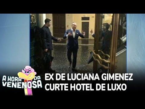 Ex de Luciana Gimenez gasta fortunas com nova namorada em hotel na Itália