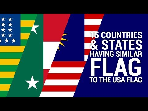 15 Countries And States Having Similar Flag To The USA Flag
