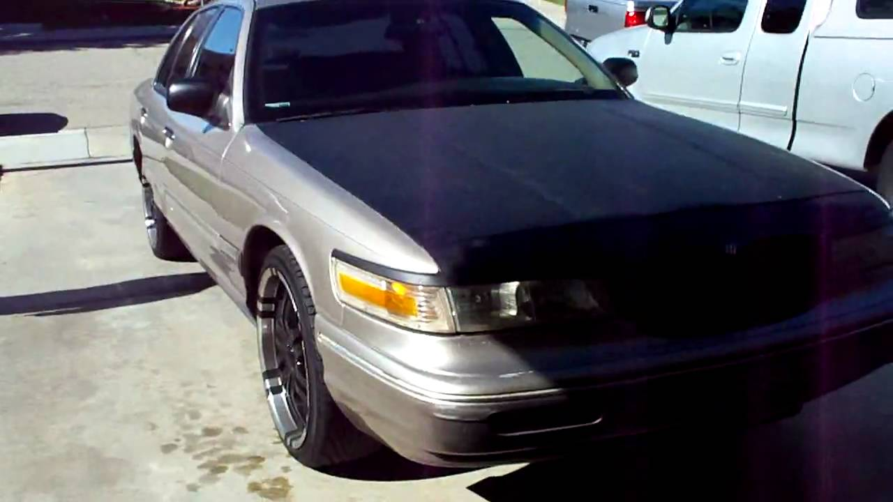 Low Budget Project 95 Grand Marquis Murdered Out Paint Job