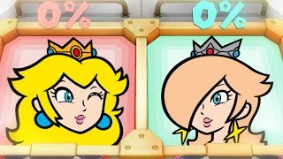 Super Mario Party MiniGames - Peach Vs Daisy Vs Rosalina Vs Bowser (Master Cpu)