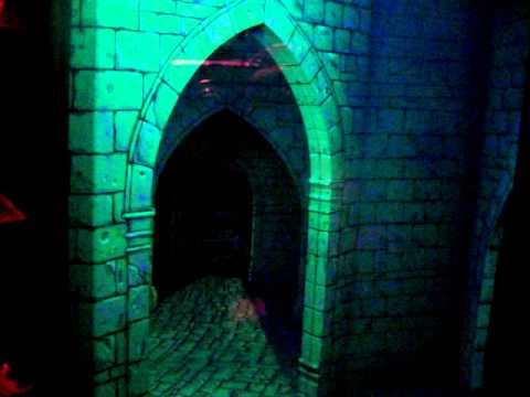 Inside Sleeping Beauty Castle