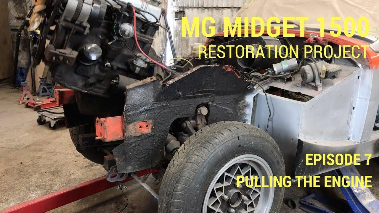 mg midget restoration project [ 1280 x 720 Pixel ]