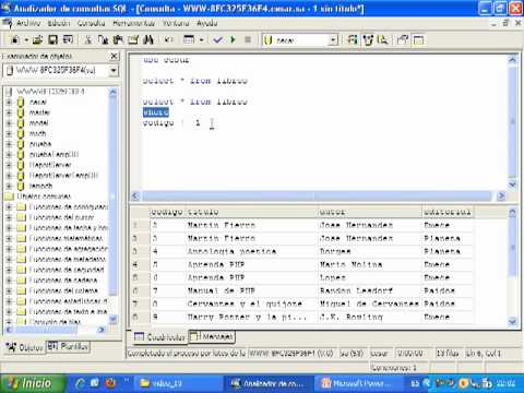 Videotutorial 14 ASP y SQL Server