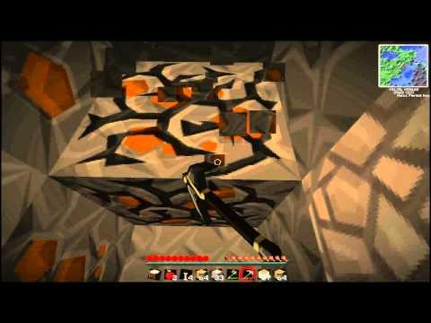 Minecraft: 100,000 DIAMONDS Challenge - Part 2 - Technic/Tekkit - VIKING FAIL - MINING