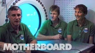 Life on a Fake Asteroid: An Undersea Interview with NASA