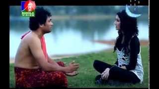 BANGLA DRAMA FUNNY SCENE   HELLO BANGLADESH   RUPONTY & ZAMIL ( MIRAKKEL FAMED ) - WWW.LEELA.TV