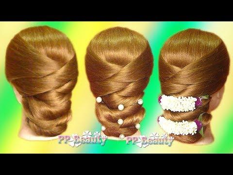ทรงผมเกล้าเจ้าสาวแบบง่ายๆ : Easy Bridal Hairstyles