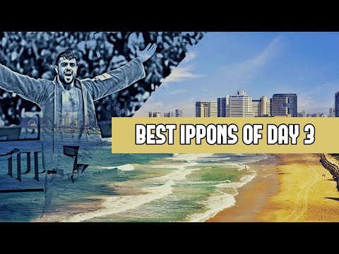 Best ippons in day 3 of Judo Grand Prix Tel Aviv 2019