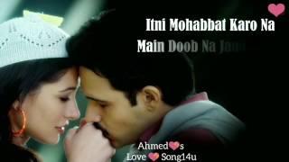 💝Bol Bo Na Zara💝 Part 1 💝 lyrics 💝 #lovesong #boldonazara #azhar #🎬 #armaanmalik #🎤 #emranhash