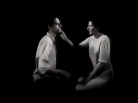 Light/ Dark- Marina Abramovic & Ulay- performance art