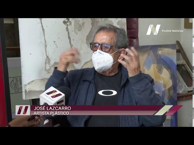Este #DíaMundialdelArtistaPlástico, conoce al poblano José Lazcarro, uno de los más reconocidos