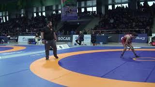 1/8 final FS - 51 kg: Ömər Nəsibov (AZE) - Nihat Ağakişizadə (AZE)