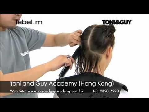 Video clip dạy cắt tóc nghệ thuật Toni&guy 1c - www.viethairhua.com