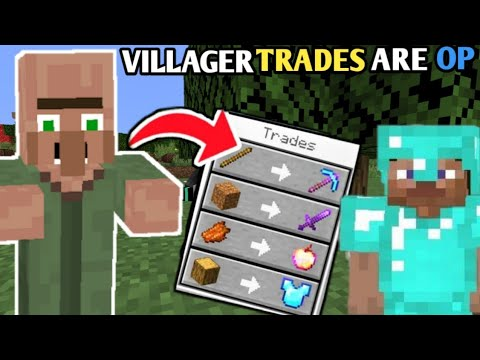 *MINECRAFT BUT VILLAGERS GIVE OP LOOT*    HINDI GAMEPLAY    TECHNO GAMERZ MINECRAFT  FEAT @CHOCO HUB