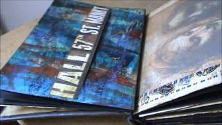 River Song Book, Art Journal for Round Robin