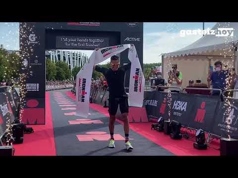 Vitoria-Gasteiz vibra con el Ironman más extraño