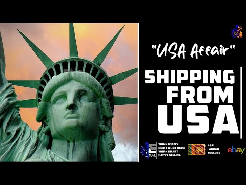 Shipping From United States - USA Affair