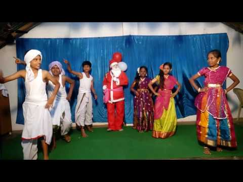 ILLALONA PANDAGANTA CHRISTMAS ACTION SONG BY JESUS FELLOWSHIP PRAYER HOUSE ANAPARTHI