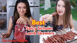 How to make Chinese Lamb skewers-Spicy and juice