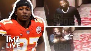 NFL Superstar Kareem Hunt Attacks Woman In Hotel   TMZ Live