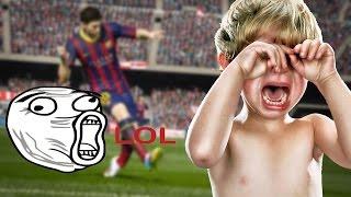 Fifa 15 ! Le Gamin le plus rageux de la planète | 9-0